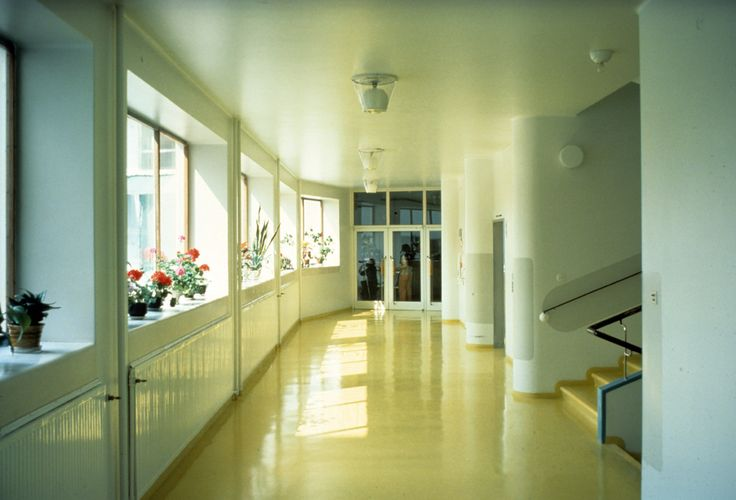 FI, Paimio, sanatorium. Architect Alvar Aalto, 1933.