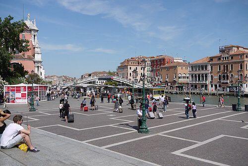 Stazione di Venezia Santa Lucia in Venezia