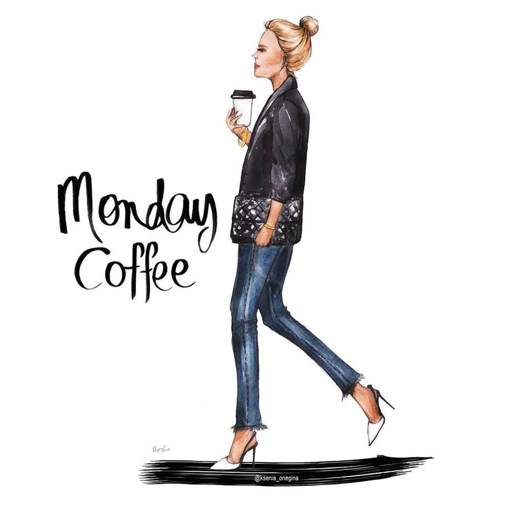 Monday ☕ #goodmorning #morning #breakfast #goodnight #saintpetersburg #picture #artwork #artist #follow #look #womans #design #moda #girl #omsr #fashion #fashionillustrator #fashionblogger #fashionista #coffee #boss#drawing#instabeauty #work#платье#кофе#glasses#bag#логотип#рисуюназаказ