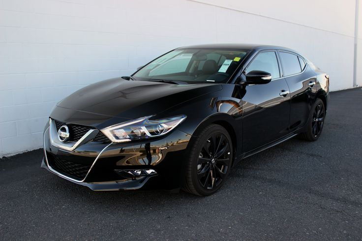 2017 Nissan Maxima SR with the Midnight Edition Package! Isn't she a beauty!