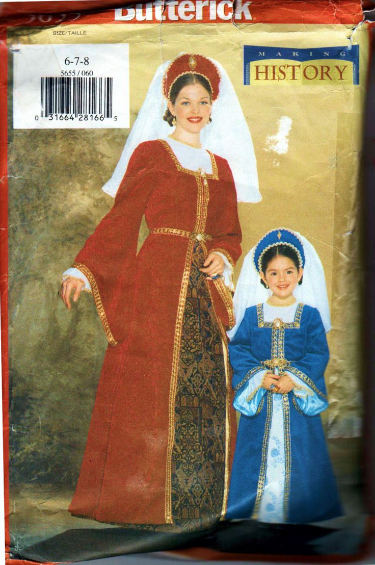 15 best renaissance medieval sewing patterns images on pinterest adult costume sewing patterns new and used jeuxipadfo Images