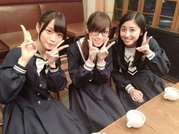 乃木坂46 (nogizaka46) Fukagawa Mai (深川麻衣) Nishino Nanase (西野七瀬) Saito Chiharu (斎藤ちはる)
