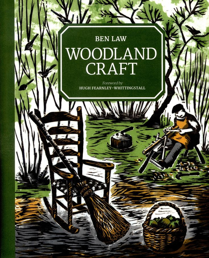 Woodland Craft, Ben Law: Celebrate the splendor of wood with these wood-crafting projects. From simple woven panels to making a functional yurt, Woodland Craft features an array of easy-to-follow projects that include crafts for the farm, garden, wood fuel, building and domestic use. Green wood - wood that has been recently cut and is therefore still moisture-rich - is the predominant material used in the projects featured in this essential guide for craftsman of all levels.