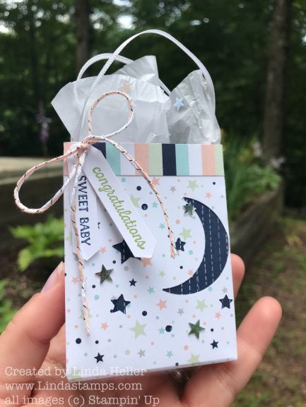 Mini Shopping Bag Gift Card Holder Tutorial (Where The Rubber Hits The Road)