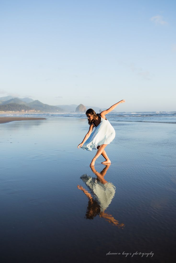 Oregon Coast Senior Dance Session, Cannon Beach Senior Photographer, Portland Senior Photographer, Dance Photography Portland Oregon