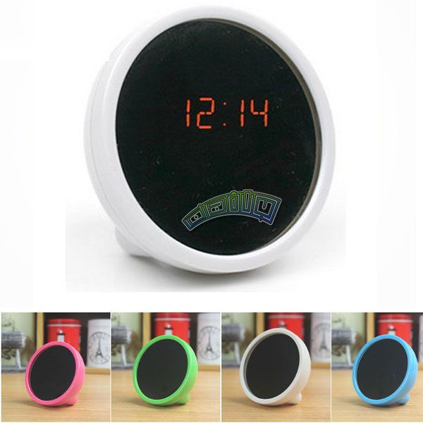 Mini Mirror Table Clock LED Digital Display Alarm , Also Used as a Beauty Mirror. Package Included:1x Mirror Digital Alarm. - It can act as a mirror, it act as function as mirror,
