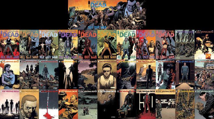 HUGE LOT of the WALKING DEAD comics!! Negan! Alpha! Whisperers!