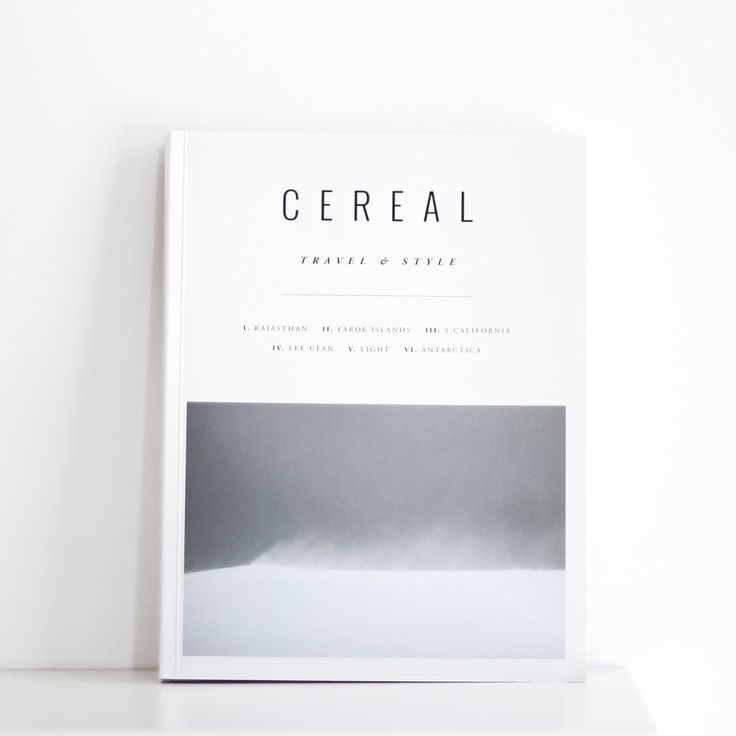 Cereal Magazine (Volume 12)