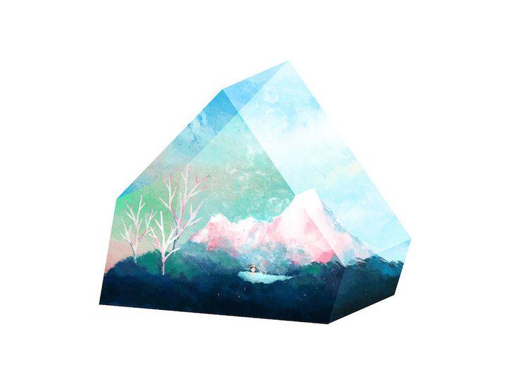 Crystal Illustrations by Ceci Lam – Fubiz Media