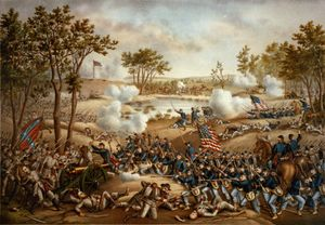 The Battle of Cold Harbor was fought from May 31 to June 12, 1864 (with the most significant fighting occurring on June 3). It was one of the final battles of Union Lt. Gen. Ulysses S. Grant's Overland Campaign during the American Civil War, and is remembered as one of American history's bloodiest, most lopsided battles. Thousands of Union soldiers were killed or wounded in a hopeless frontal assault against the fortified positions of Confederate Gen. Robert E. Lee's army.