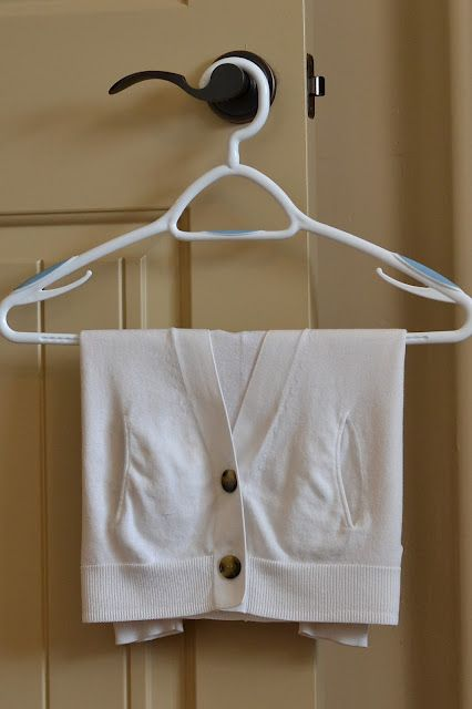 Have You Ever Wondered How The Dry Cleaners Hang Sweaters So Perfectly Well Here S A