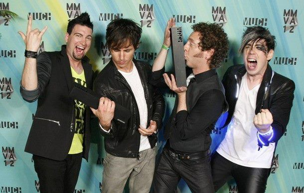 Marianas Trench Band | Marianas Trench 2012 MMVAs