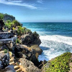 another paradise at ngobaran beach yogyakarta