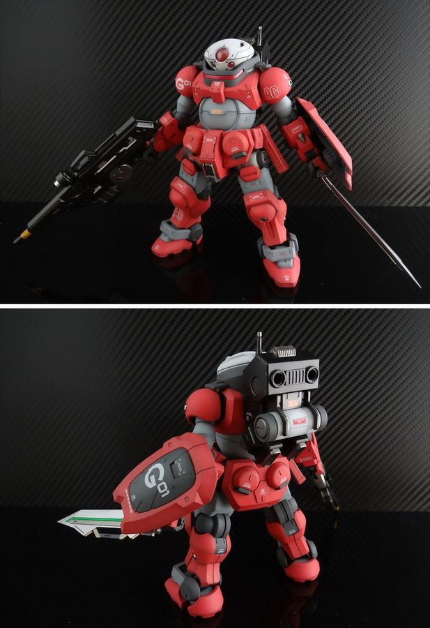 "Custom Build: HG 1/144 Grimoire ""CRAB Pack Aida Special"" - Gundam Kits Collection News and Reviews"