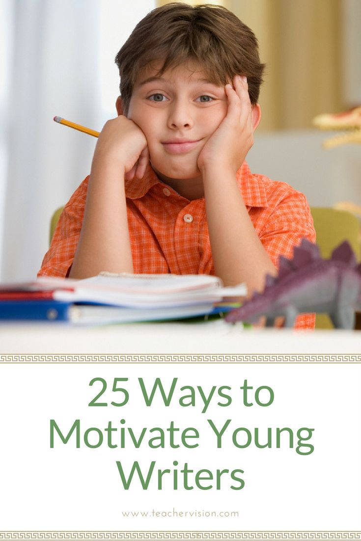 Improve students' writing skills with these 25 ways to motivate young writers. (Grades PreK-6) Great for new teachers and elementary teachers looking to build writing skills in their classrooms!