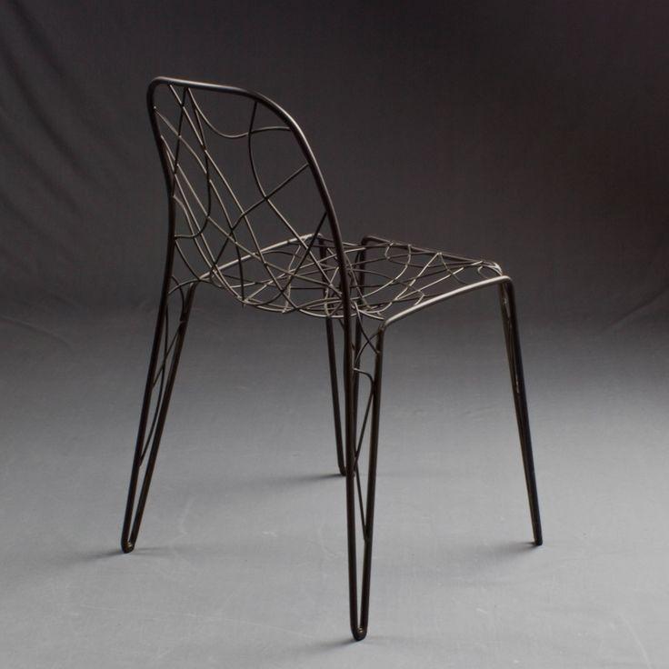 die besten 25 drahtstuhl ideen auf pinterest sitzkissen wei e schreibtische und kissen f r. Black Bedroom Furniture Sets. Home Design Ideas