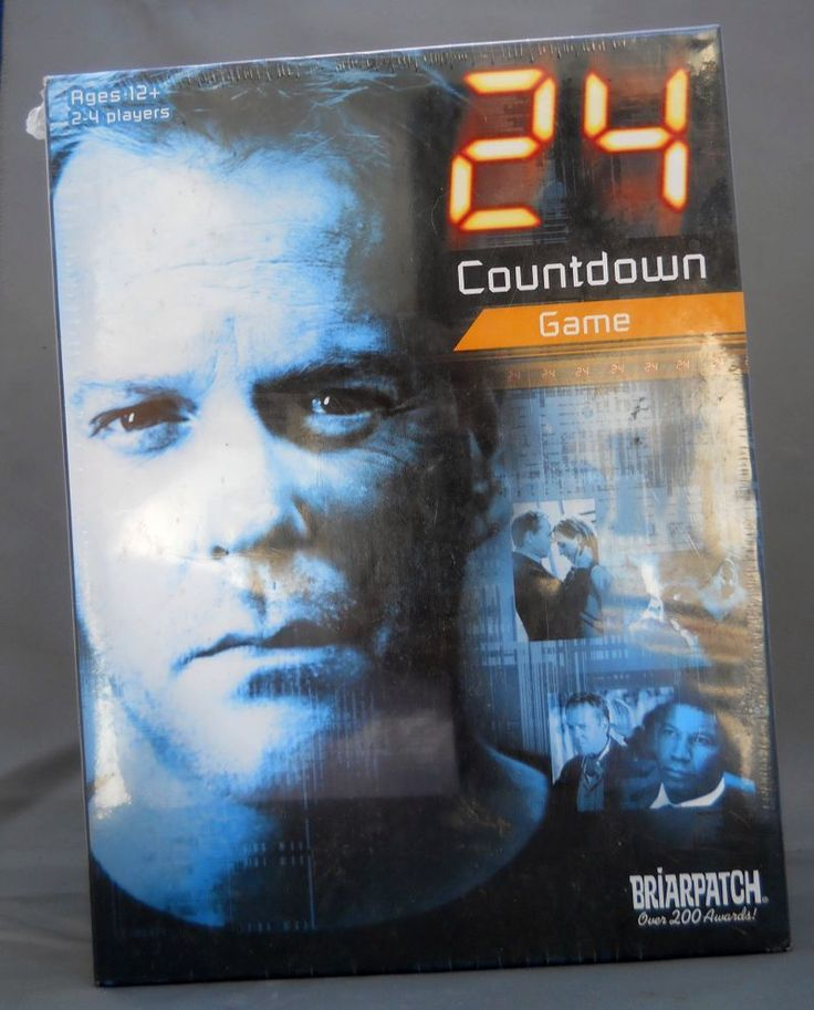 24 COUNTDOWN BOARD GAME 2006 BRIARPATCH 20TH CENTURY FOX TV SERIES NIB & SEALED