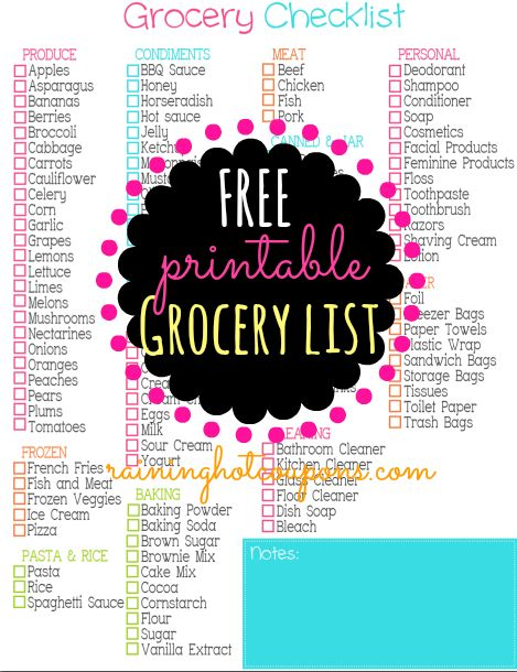 Best 25+ Printable shopping list ideas on Pinterest Grocery list - grocery list word