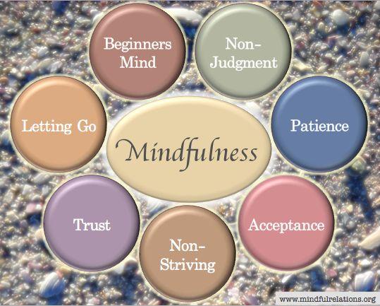 Image result for mindfulness jon kabat zinn 7 attitudes