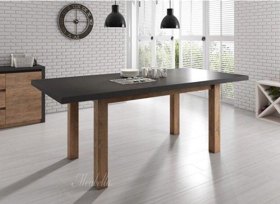 Eetkamertafel Monaco is een tafel die geschikt is voor 4 tot 6 personen. Deze tafel is geschikt voor elke stijl eetkamer of woonkamer vanwege zijn strakke design. De lengte is 160 cm, hoogte 79 cm en breedte 90 cm. Deze tafel is uit te schuiven tot 203 cm. Tevens is de tafel voorzien van drie jaar garantie.