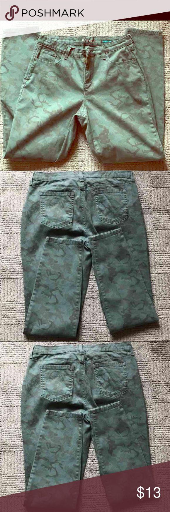 Camouflage Skinny Jeans Skinny Jeans Size 12 Jeans Skinny