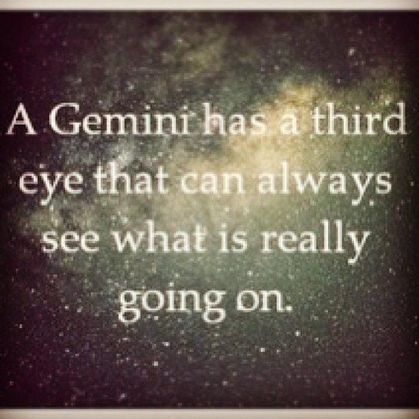 """As my fellow Gemini, Macario says, """"I'm a conundrum wrapped in an enigma trapped in a contradiction.""""Nothing describes a GEMINI better than this, except for maybe another analogy I heard from another friend, which had nothing to do with GEMINI'S but it stuck.Being a GEMINI is like """"trying to"""