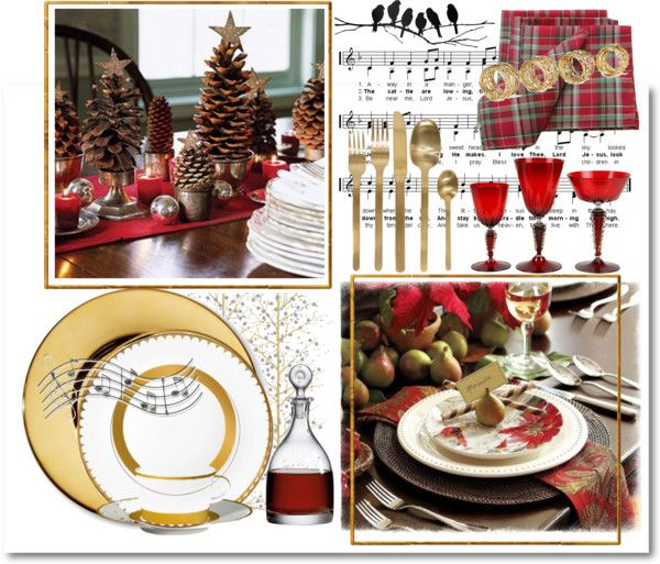 """""""Christmas Dinner"""" by catzmeow ❤ liked on Polyvore"""