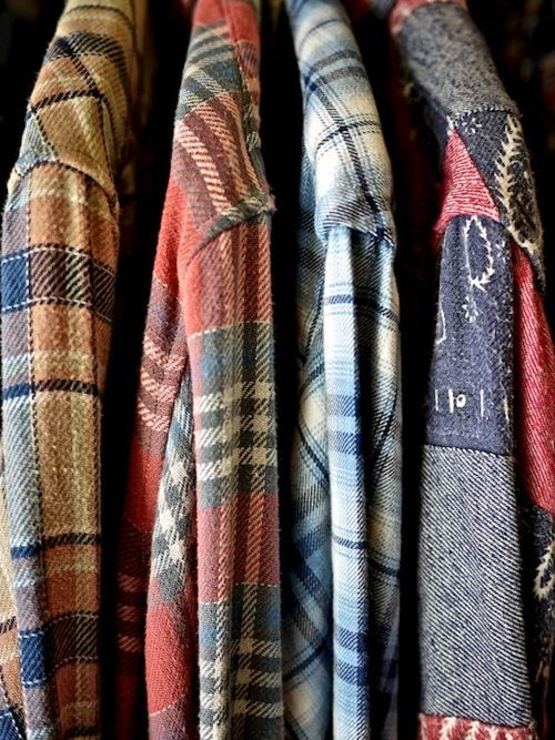 Flannel - compulsory camp clothes.  And for summer, water as not to dehydrate oneself and no flannels.