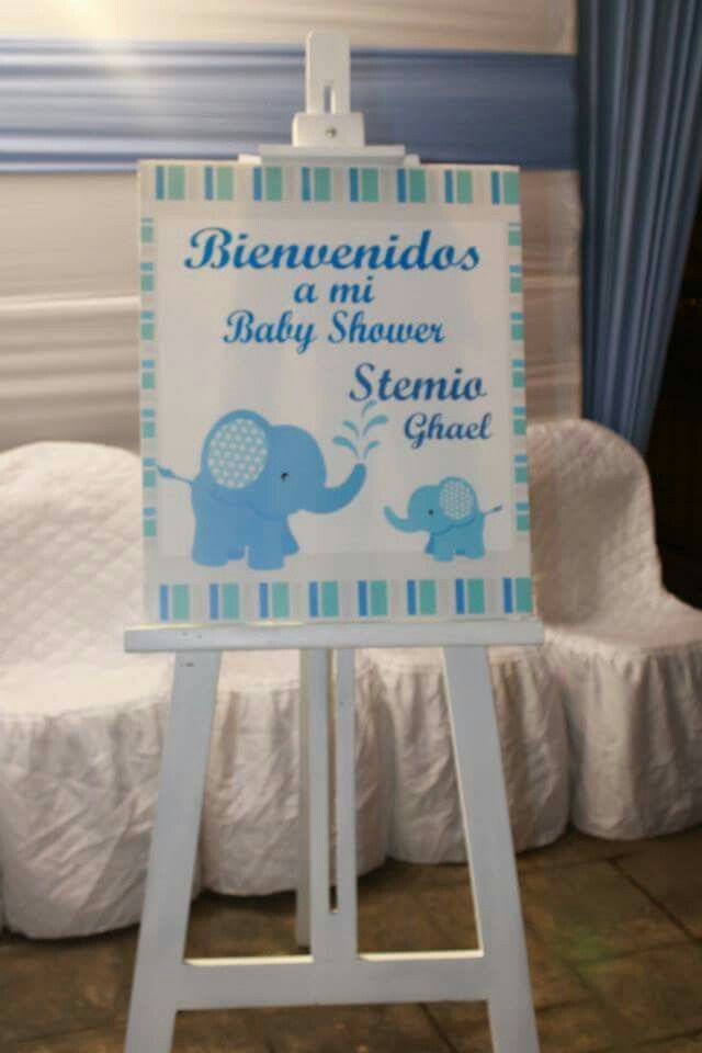 Babyshower decoraci n ni o boy pinterest babyshower - Baby shower decoracion ...