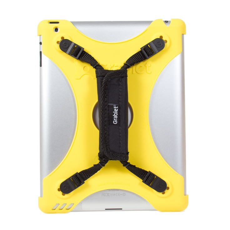 With this Grablet Novus G2 iPad case, there will be no chance that your iPad will be fall on the floor ever again !