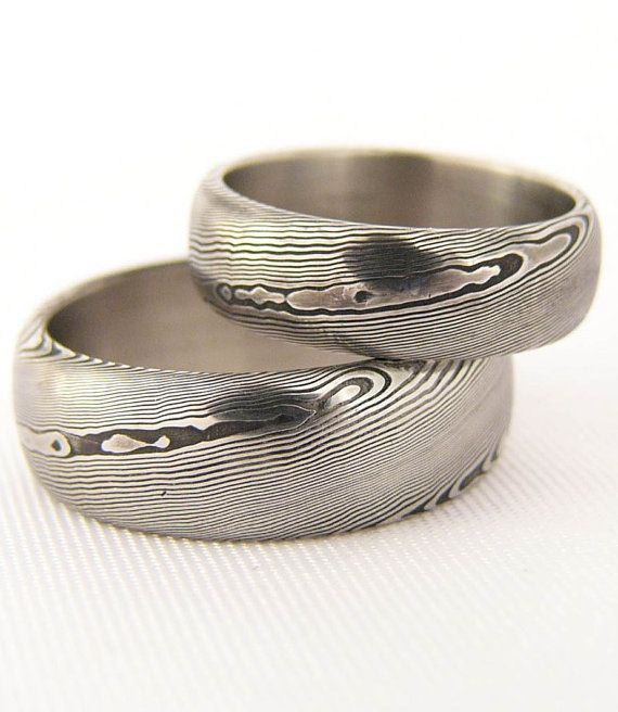 Hey, I found this really awesome Etsy listing at https://www.etsy.com/au/listing/250812277/rubir-a-pair-of-damasteel-wedding