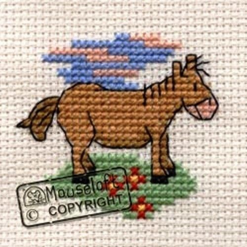 Mouseloft Mini Cross Stitch Kit  - Pony