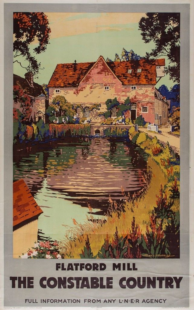 The constable country - Flatford mill - LNER - (Spradbery)