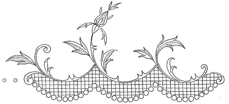 French embroidery site