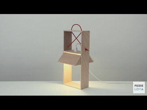 Pierre Lota Design   Manualidades con objetos sencillos y bricolaje, y con papel. Vídeos de un minuto  [Bricoler avec Bosch] Créer une baladeuse design avec Bosch et Pierre Lota