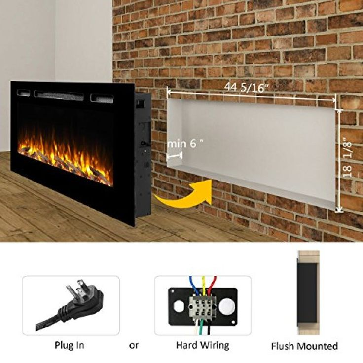 10 Best Wall Mount Fireplace Images On Pinterest