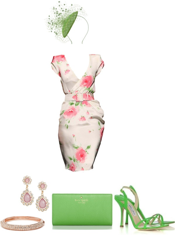 """""""Kentucky Derby Look"""" by divacrafts on Polyvore"""