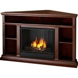Real Flame - Churchill Gel Fireplace - Indoor Usage - Heating Capacity 2.64 kW - Dark Espresso