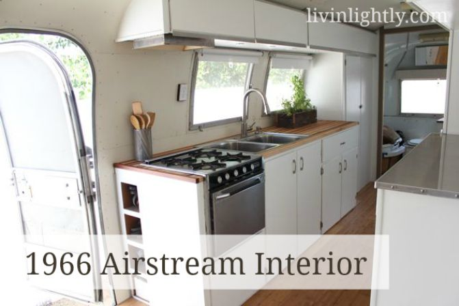 Family sold all their stuff and moved into an airstream trailer.....in some ways so tempting
