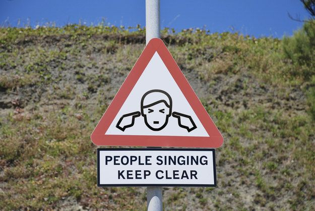"""For a car full of human jukeboxes, play """"The Singing Game."""" 