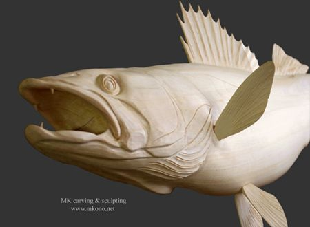392 best images about wood carving on pinterest for Fish wood carving