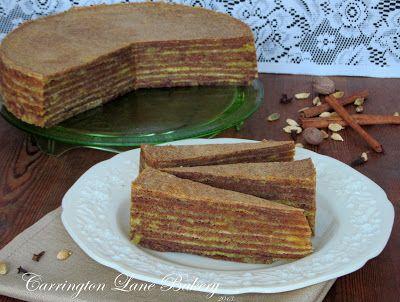 Carrington Lane Bakery: Spekkoek (Lapis Legit or Thousand Layer Cake)