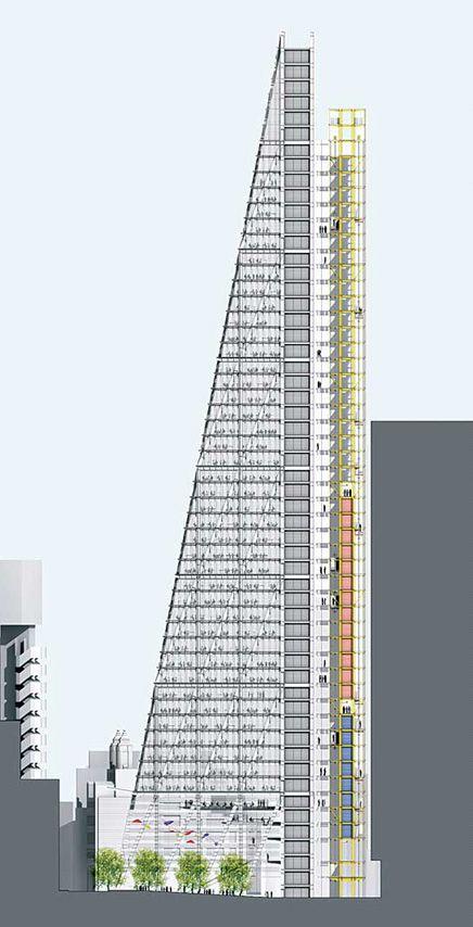 The Leadenhall Building, London - Rogers Stirk Harbour + Partners