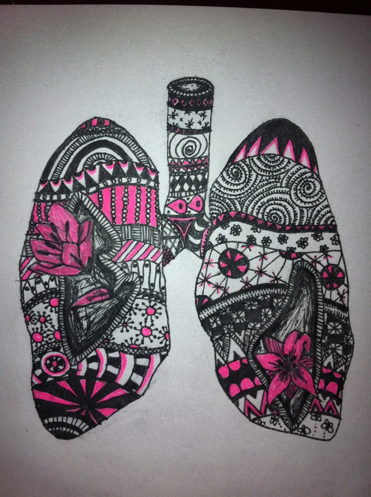Healthy Lungs - made by Helena W. Pedersen