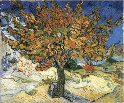 Pintando sonrisas de colores: La morera de Vincent Van Gogh