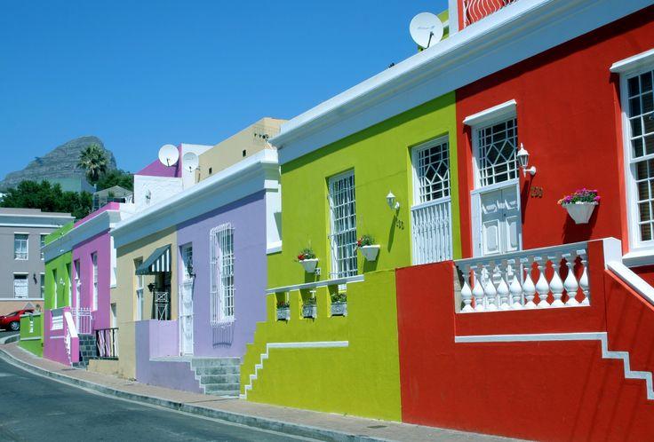 Bo kaap Houses, Cape Town.