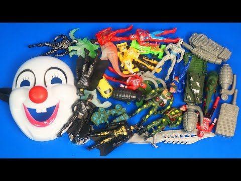Box of Toys! Cars Masks Batman Action Figures Marvel Mashers superman Sp...