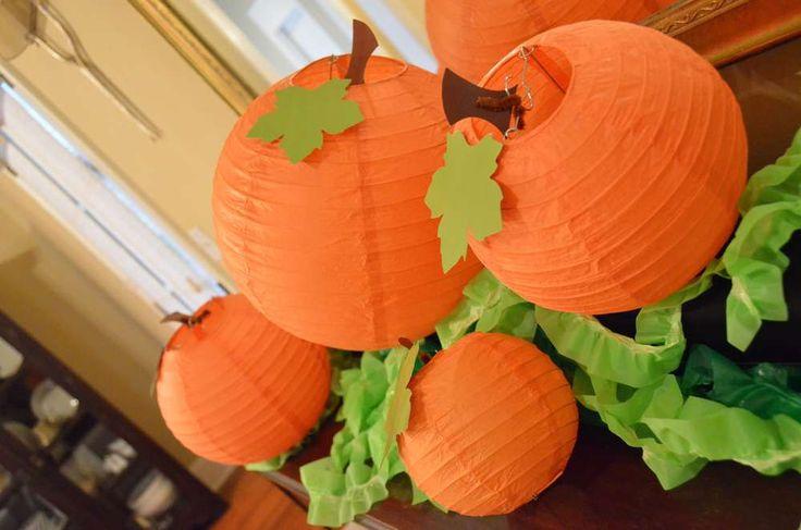 Austin's Pumpkin Patch Party | CatchMyParty.com
