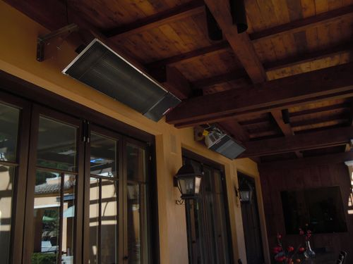 gallery of radiant efficient outdoor heaters from patio heaters usa - Patio Heating Ideas
