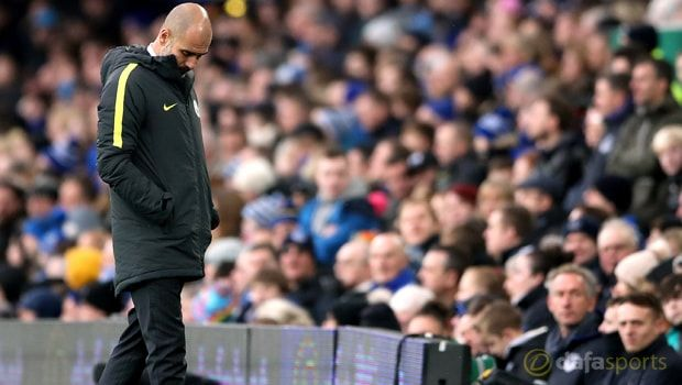 Pep Guardiola admits title is now beyond Man City's reach